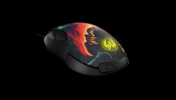 STEELSERIES RIVAL300 MOUSE CSGO HYPER BEAST EDITION