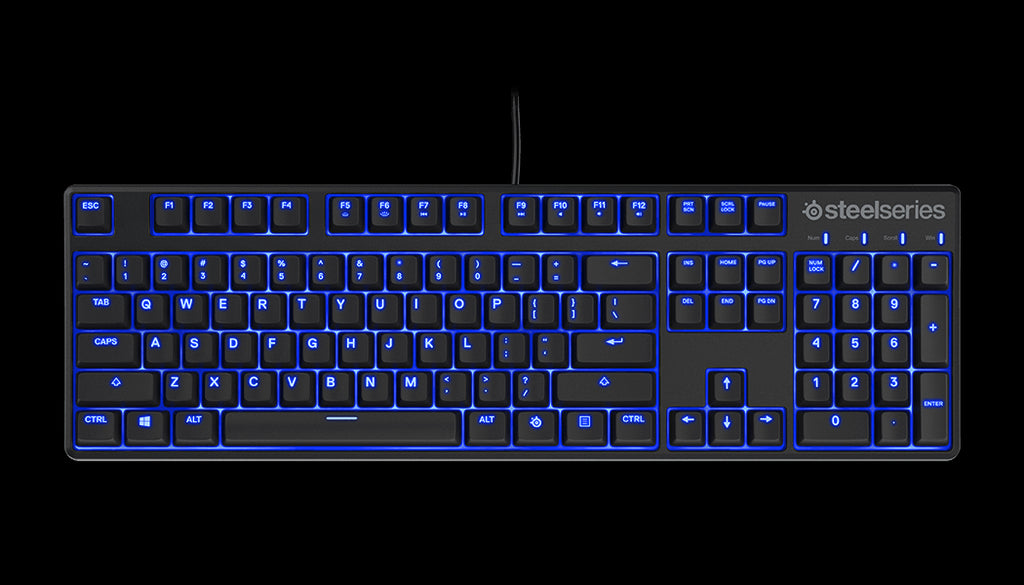 788b9e26bc6 STEELSERIES APEX M500 KEYBOARD-BLUE CHERRY SWITCH – Zyngroo