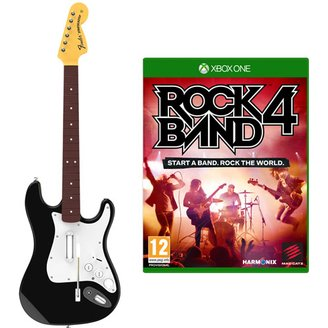 XB1 ROCKBAND 4 WRLS GUITAR BUNDLE