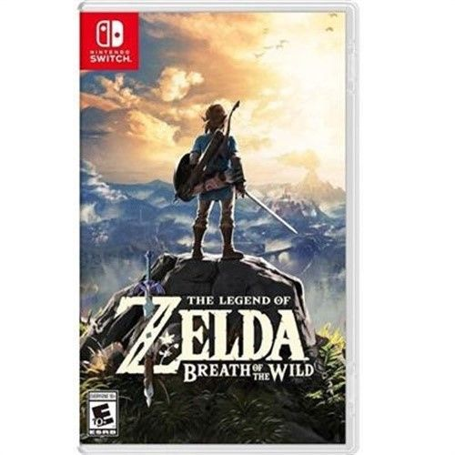 NSW THE LEGEND OF ZELDA: BREATH OF THE WILD - US