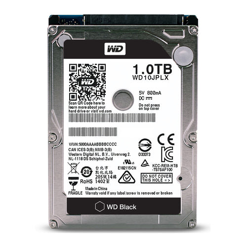 "Western Digital 2.5"" INT HDD 1TB (Black)"