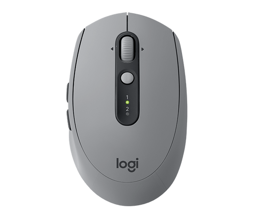 Logitech M590 Silent Multi Device Mouse - Mid-Grey