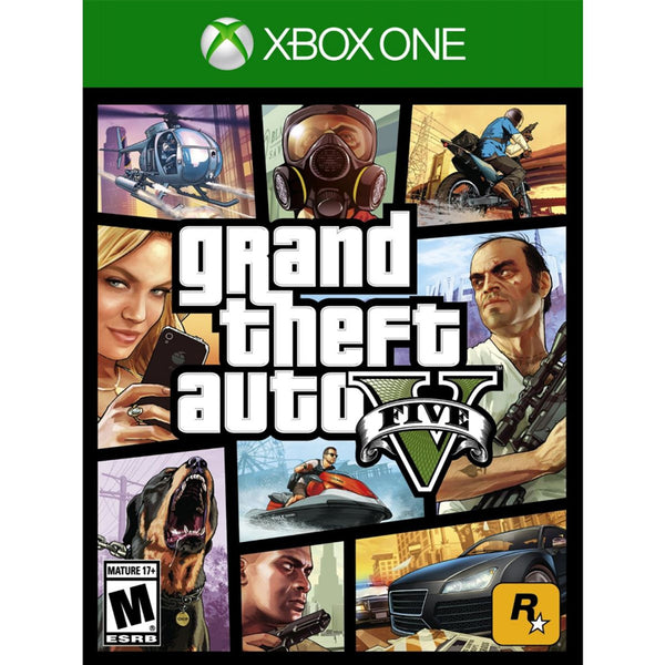 XB1 GRAND THEFT AUTO V - PAL (M18)