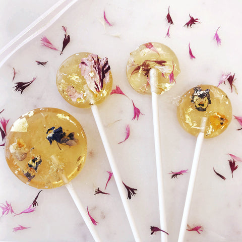 The Social Pops with Petite Ingredient Dried Edible Flowers