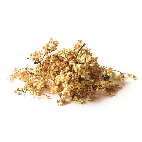 Dried Organic Edible Elderflower