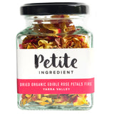Dried Organic Edible Rose Petals Fire