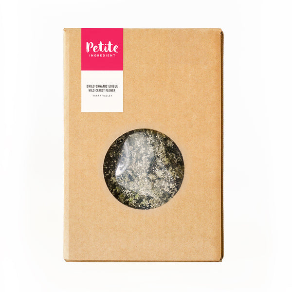 Dried Organic Edible Wild Carrot Flower