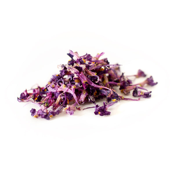 Dried Organic Edible Linaria Purple
