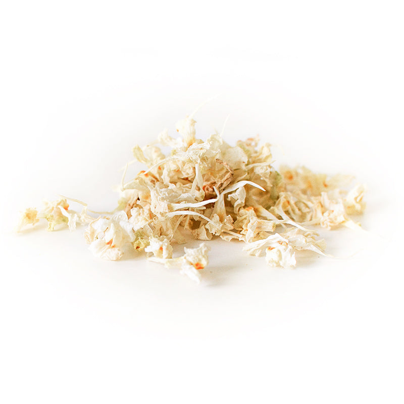 Dried Organic Edible Linaria White