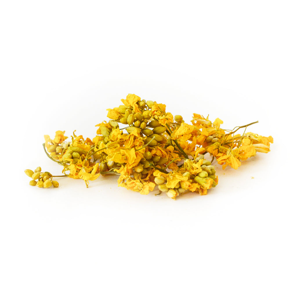 Dried Organic Edible Mustard Flower