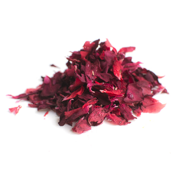 Dried Organic Edible Pelargonium Red