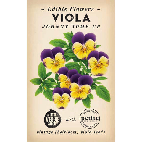 Viola 'Johnny Jump Up' Seed