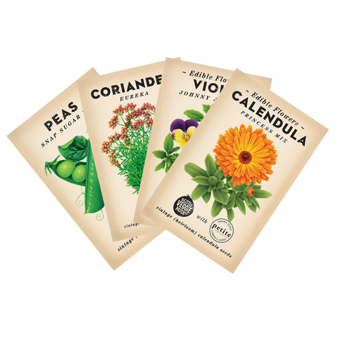 4 pack of Winter Flowering Seeds