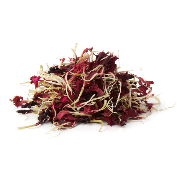 Dried Organic Edible Dianthus Red
