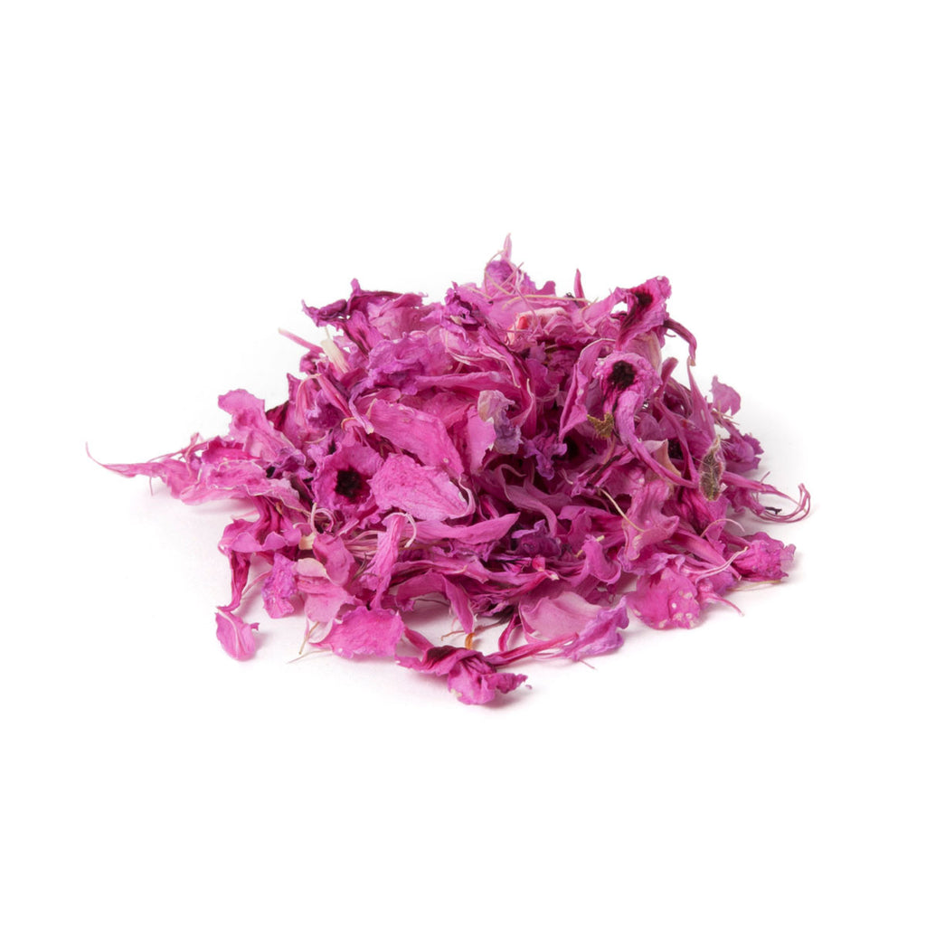 Dried Organic Edible Rose Geranium