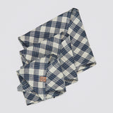 Bandana Check Dark Blue - Beige