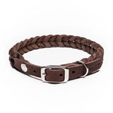 Halsband Central Park Saddle Brown