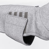 Hundemantel Brooklyn Fr. Bulldogge | Flanell Gray