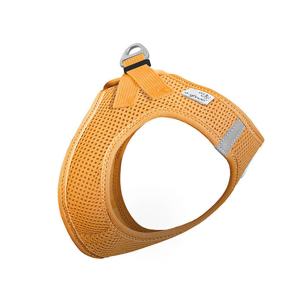 Curli Vest Air-Mesh Hundegeschirr, Orange
