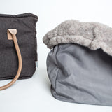 Cloud7 | Hundetasche Heather Brown - Hund von Eden