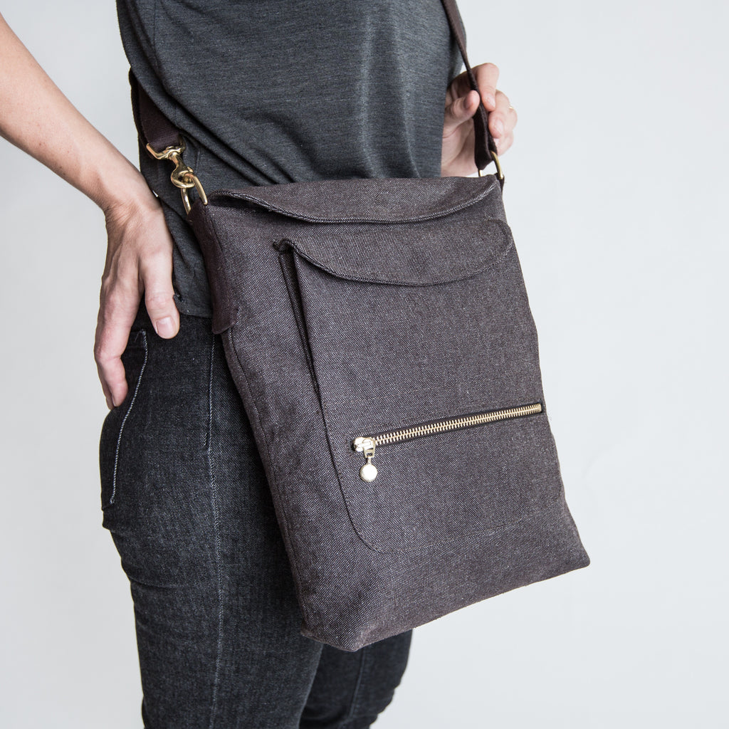 Cloud7 | Walking-Bag Heather Brown - Hund von Eden