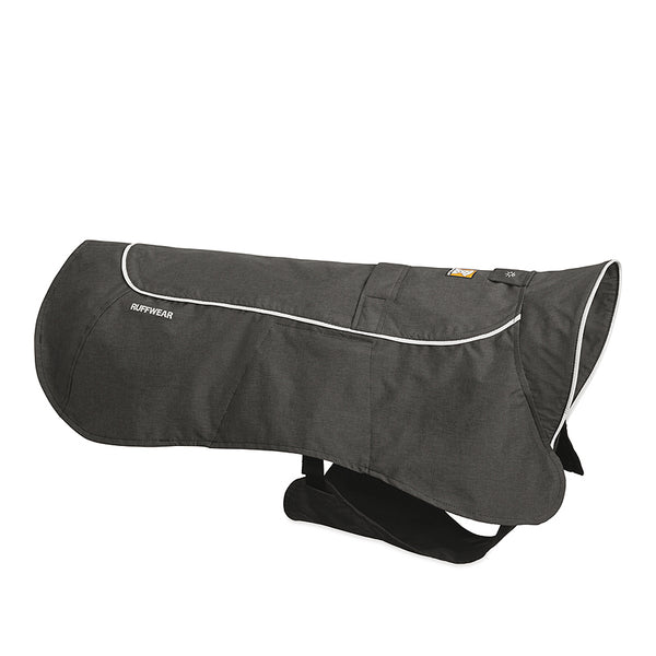 Ruffwear | Regenmantel Aira | Twilight Gray & Red Rock - Hund von Eden