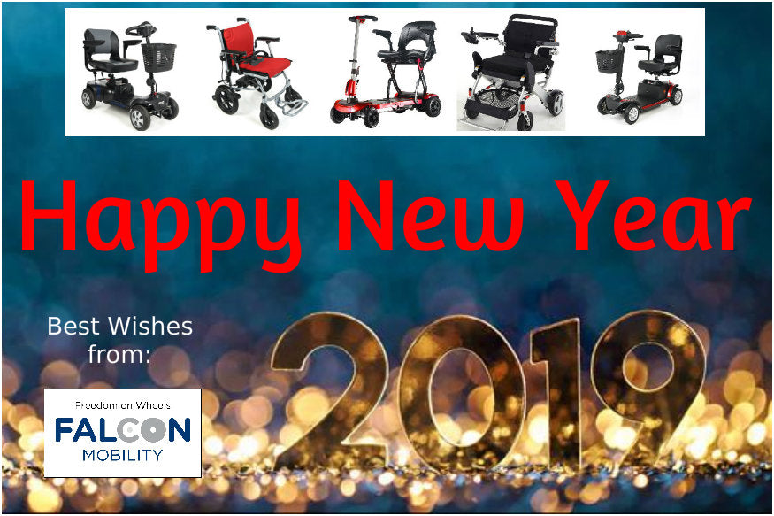Happy New Year 2019 from Falcon Mobility Malaysia