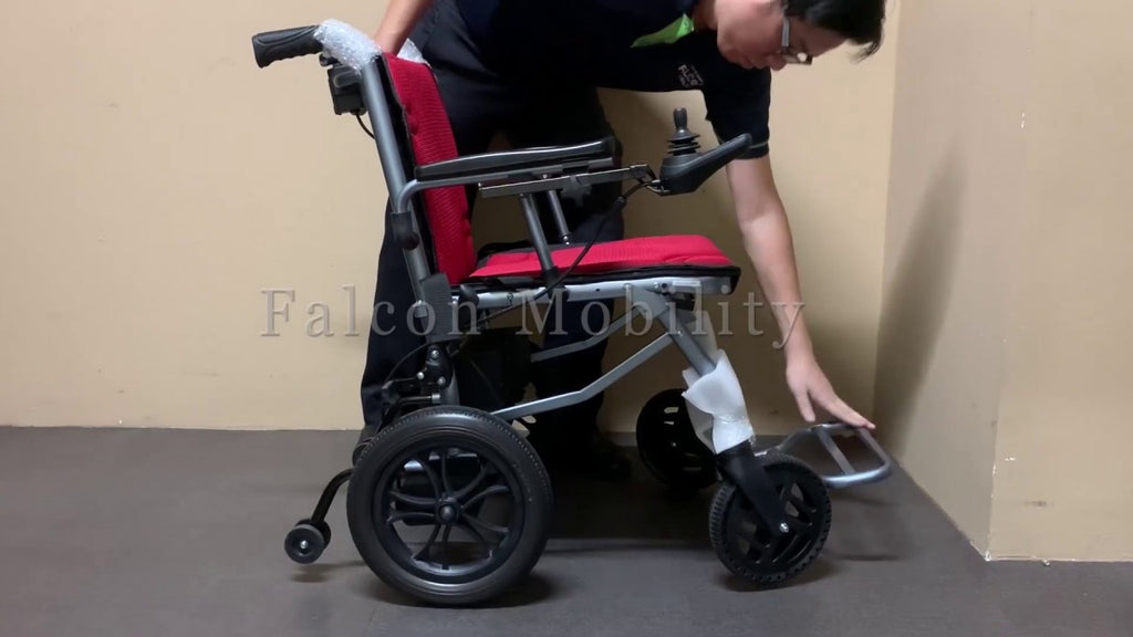 How to Fold and Unfold the Ultra-Lite Electric Wheelchair