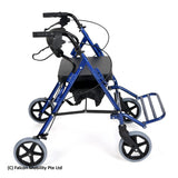 Dual Function Rollator cum Wheelchair