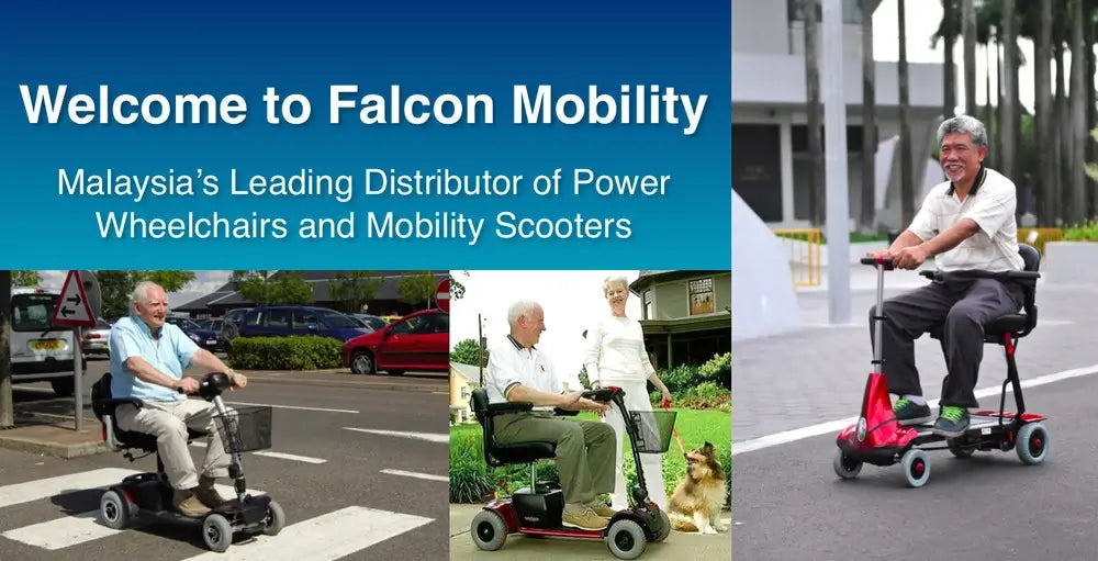 Welcome to Falcon Mobility - Malaysia' Leading Distributor of Motorised wheelchairs and Mobility Scooter