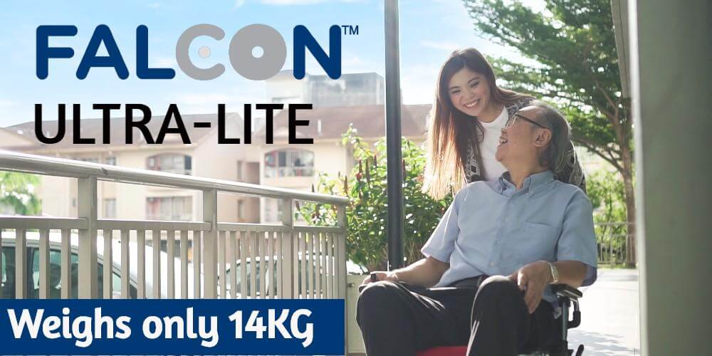 Lightest Electric Wheelchair in Malaysia!