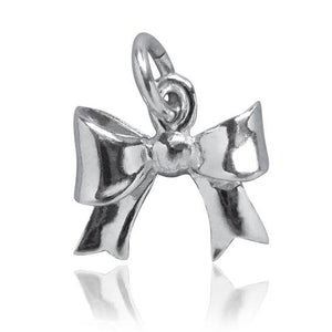 Ribbon Bow Charm Pendant