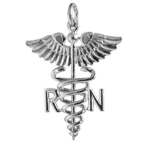 Registered Nurse Symbol Charm