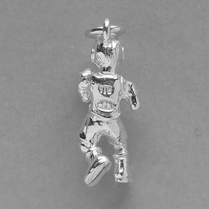 Man boxing charm sterling silver or gold boxer pendant | Silver Star Charms