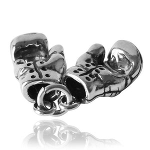 Sterling Silver Boxing Gloves Charm | Charmarama