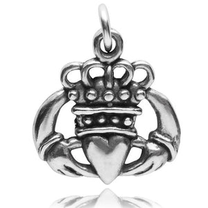 Irish Claddagh hands heart crown symbol | Charmarama