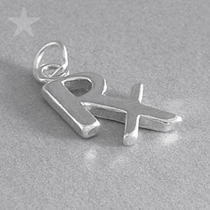 Medical Prescription Symbol Charm