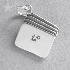 Sterling Silver Tarot Cards Charm