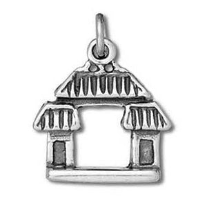 Sterling Silver Chinatown Gate Charm