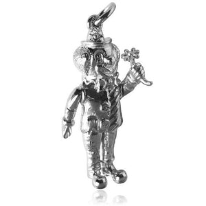 Clown Charm in Sterling Silver or Gold | Silver Star Charms
