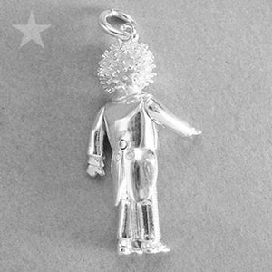 Mechanical Golly Doll Charm | Silver Star Charms