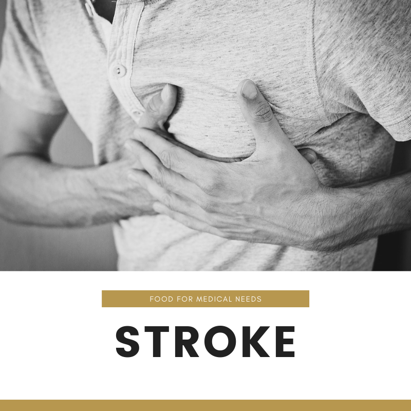 What happens when someone has stroke?