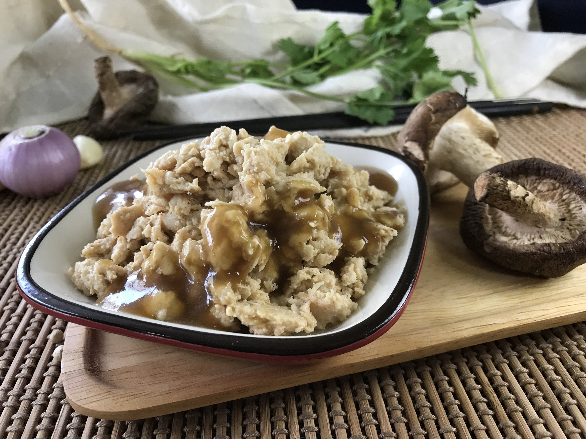 Meat And Fish - Shiitake Oyster Chicken