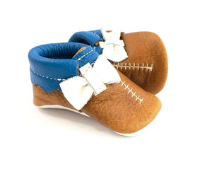 Football Moccasin - Side Bow
