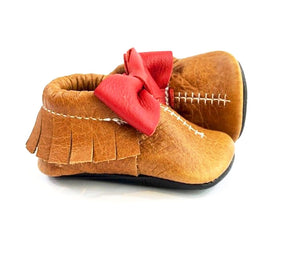 Football Moccasin - Top Bow