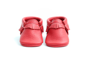 Classic Red Moccasins