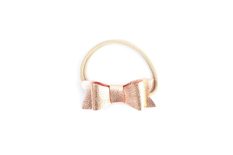 Classic Bow Rose Gold