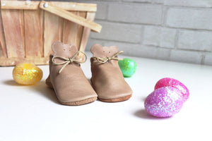 Teddy Bear Moccasins