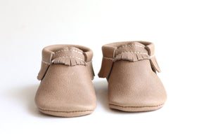 Classic Weathered Brown Moccasins