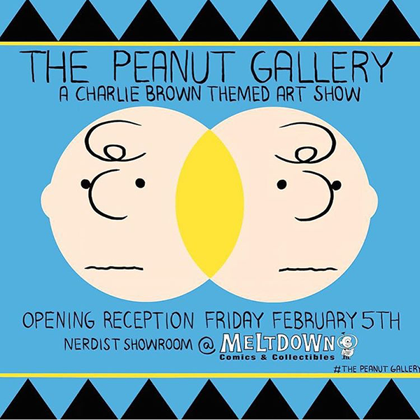 The Peanuts Gallery at Meltdown Comics